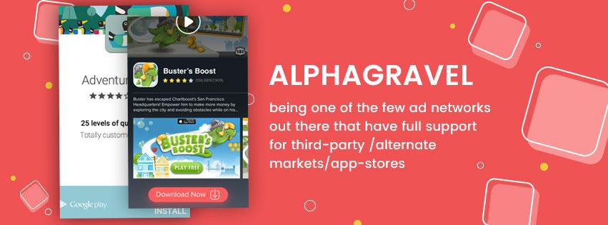 Monetizing Alternative App Stores - Alphagravel Mobile Ads SDK